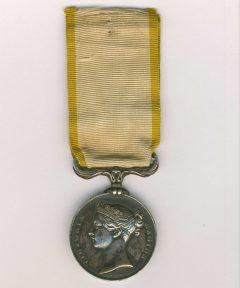 Image de Médaille de Crimée 1854 – Modèle Anglais