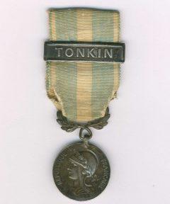 Image de Médaille Coloniale barrette Tonkin