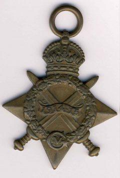 Image de GB WWI : Star Medal 1914-1915