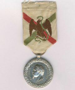 Image de Médaille du Mexique 1862-1863 – Graveur Barre