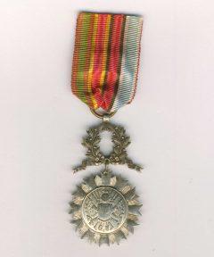 Image de Médaille de la Société de Secours Mutuels française des ex-militaires Type I
