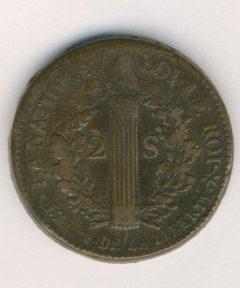 Image de Monnaies 2 Sols 1789