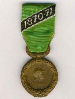 Image de Médaille des engagés volontaires Mineurs 1870-1871