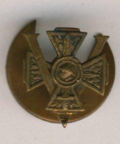 Image de Boutonnière Combattant Volontaire WWI