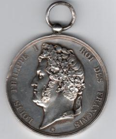 Image de Médaille Courage et Dévouement 1854