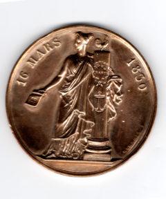 Image de Médaille Louis-Philippe : Adresse au roi – Aux 221 Les citoyens reconnaissans