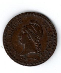 Image de Un Centime 1849 A