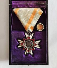 Image de Japon WWII : Médaille Ordre du Trésor Sacré Classe VI