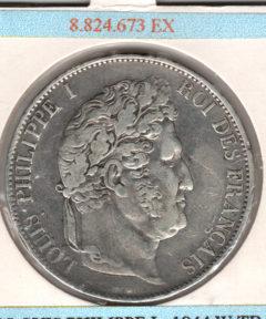 Image de 5 Francs 1833 – Louis Philippe Ier (Arg)