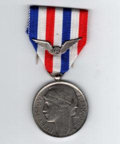 Image de Médaille du travail Aéronautique